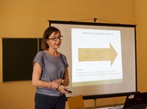 gościem specjalnym była Pani Anna Górak z Regionalnego Ośrodka Polityki Społecznej Urzędu Marszałkowskiego